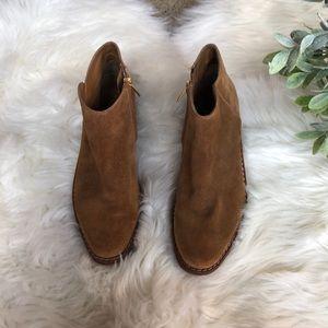 Sam Edelman Shoes - Sam Edelman Tan Suede Booties